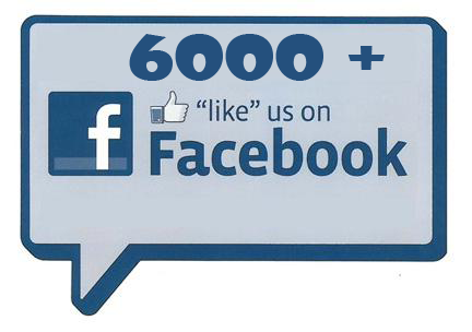 Over 6000 Facebook Likes