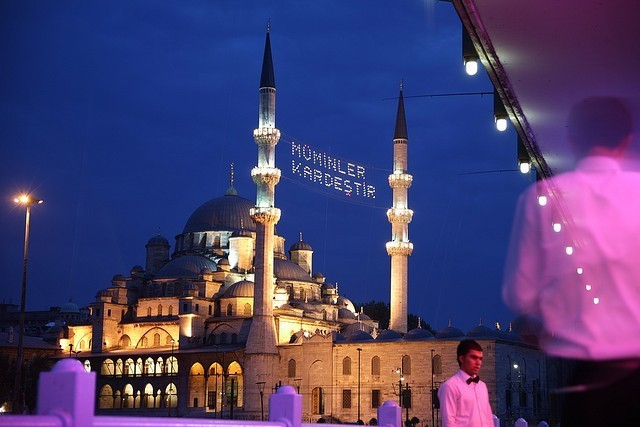 The Yeni Mosque, Istanbul