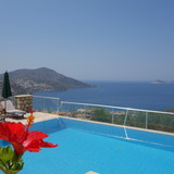 Detached Luxury Holiday Villa in Kalkan with Private Pool and Stunning Sea Views